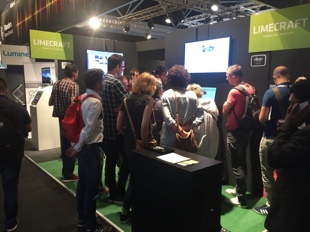 Limecraft at IBC 2016